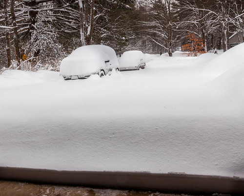 Snow-Filled Driveway