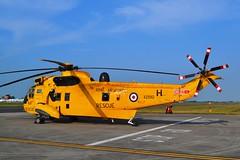 RIAT Planeguard (Gerry Rudman) Tags: westland sea king riat raf fairford 22 sqn xz 592 planeguard sar morayavia kinloss scotland morayvia