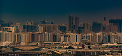 The desert city (Coisroux) Tags: dubai uae emirates cityscape architecture highrises horizon engineering tourism desert development harbourcity port museams construction population d5500 nikond panorama clearskies