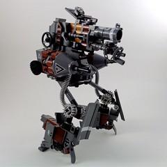 V.A.T. II Vertical Armoured Tank (Marco Marozzi) Tags: lego legomech legodesign marco marozzi moc mecha mech walker dieselpunk robot afol