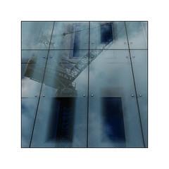 Reflection (jldum) Tags: reflets reflection engine line bordure frame art architecture artist artiste