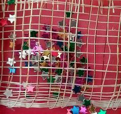 Gift bag (Oh.Great!) Tags: 3652017 macromondays 10years glitter stars gift bag ribbon 500v20f