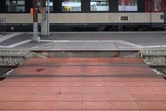 SBB - St Gallen Station (Kecko) Tags: 2017 kecko switzerland swiss suisse svizzera schweiz ostschweiz stgallen sg europe bahn bahnhof station eisenbahn railway railroad sbb technique technik technics technology technisch plattform platform crossing übergang senn therwil swissphoto geotagged geo:lat=47422200 geo:lon=9367900