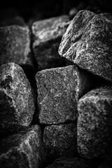 On the Rocks...... (Hildingsson) Tags: bw granit sten ontherocks svartvitt