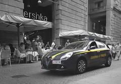 Guardia di Finanza Alfa Romeo Giulietta (Boss-19) Tags: i guardia di finanza   corso vittorio emanuele ii centro storico old city milano milan lombardy lombardia italia italy alfa romeo 159 gf 007 bk giulietta