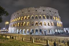 "Colosseum, Rome, Italy (swissukue) Tags: kolosseum colosseo colosseum rome roma rom italy italien sonya7ii nightshot city europe ""flickrtravelaward"" greatphotographers"
