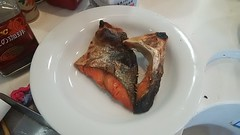 The salted salmon which I roasted (Kanda Mori) Tags: the salted salmon which i roasted 朝食 夕食 昼食 ランチ グルメ ディナー 食事 料理 食料 食べ物 ご飯 breakfast dinner lunch gourmet meal dish food rice cook cooking