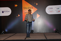 Talk on Social Recruiting at the Talent Acquisition Conclave (gautam ghosh) Tags: gurgaon talks recruiting socialmedia leelakempinski gautamghosh peoplematters tac2013