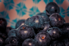 Bowl full of Goodness (The Danish Girl) Tags: blue food macro kitchen fruit canon berries bowl blueberry snack round