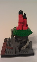 IMAG1672 (JoeRichins) Tags: mountain castle train river waterfall lego micro legos