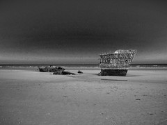 Baltray Beach, Co. Louth (Ronan McCormick) Tags: ireland beach 1974 shipwreck louth baltray irishsea theirishtrader