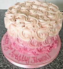 Buttercream Swirls Cake