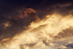 Abstract Clouds (Zagros.os) Tags: sunset sky orange abstract art clouds canon photography 3d zoom telephoto usm 55200mm 1000d