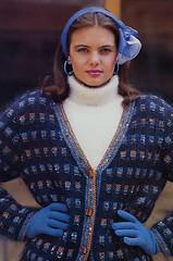 78_2 (Homair) Tags: vintage sweater fuzzy fluffy mohair cardigan combo annyblatt twinset