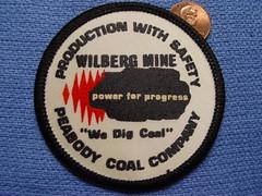 Peabody Coal Company, Wilberg Mine (Coalminer5) Tags: mining patch coal peabody miner coalmine miners coalminer coalmining emerycounty coalpatch peabodycoal miningartifacts powerforprogress peabodyenergy miningpatch coalmemorabilia coalcollectibles miningmemorabilia miningcollectible coalcollectible