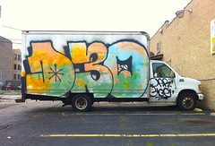 D30 (billy craven) Tags: chicago graffiti delivery oar van d30 boxtruck gloe