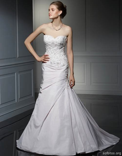 Um vestido noiva