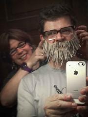 Funny Fake Beard Selfie Grand Rapids May 07, 2013 2 (stevendepolo) Tags: beard funny fake grand rapids steven selfie