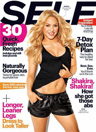 Shakira Self Magazine Cover & Pics