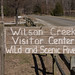 Wilson Visitor Center - sign