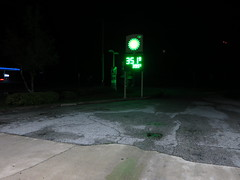 IMG_0191 (andre vautour) Tags: day2 vacation trip driving bp britishpetroleum night evening florida travel blog favorite published nightset andrevautour gas gasstation tumblr popular notes pompano2013