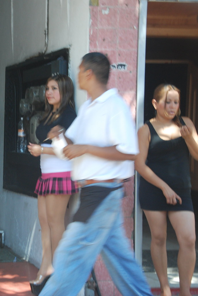 "TJ Prostitutes @ Tijuana red-light district ""La Coahuila"" (also  know"