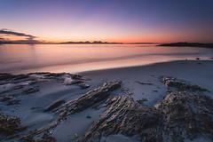 Night Night Midges (stewartbarr) Tags: uk sunset seascape beach scotland sand long exposure hard islay jura 09 lee nd filters grad isle kintyre paps gigha