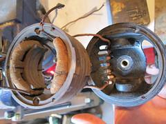 Revo Fan Rebuild (Lady Wulfrun) Tags: electric 1936 fan 1938 motor armature 1939 assembly 1937 revo prewar tipton deskfan motorhousing revotipton revofan