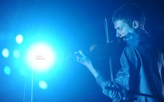 Saverio Gabrielli @ MuSe (Niccol Caranti) Tags: italy musician music classic night faro lights concert italia live muse concerto violin musica trento luci museo notte trentino controluce musicista violino inaugurazione scienze dsc7469 nikond700