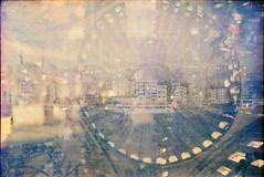 63 (M. SCHULZ) Tags: color film analog 35mm canon turkey lomography exposure trkiye istanbul iso trkei negative 400 multiple exa sophia hagia 1b bosporus ihagee 9000f