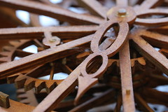 Olson Handmade Clock (jay_babin) Tags: clock woodwork time craftsman woodworking timeless craftsmanship oaklawn canon70d jaybabin kennethwayneolson