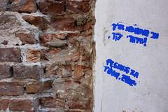 Hebrew Stencil (pasa47) Tags: june europe poland warsaw easterneurope pl 2014 masovianvoivodeship