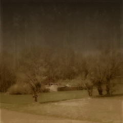 Donde el silencio habita (acativa) Tags: naturaleza primavera landscape tren casa rboles paisaje textures campo texturas silencio magicunicornverybest magicunicornmasterpiece acativa