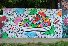Yosh Urban art Street art (descartes.marco) Tags: colores colorandcolors yoshurbanart ivryyosh