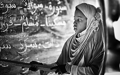 senegal (peo pea) Tags: africa portrait bw lago desert islam rosa bn senegal dakar ritratto bianconero deserto scuola sabbia pari islamica