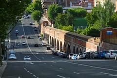 Puente-Acueducto de Amaniel, Avenida de Pablo Iglesias, Madrid. (M Roa) Tags: