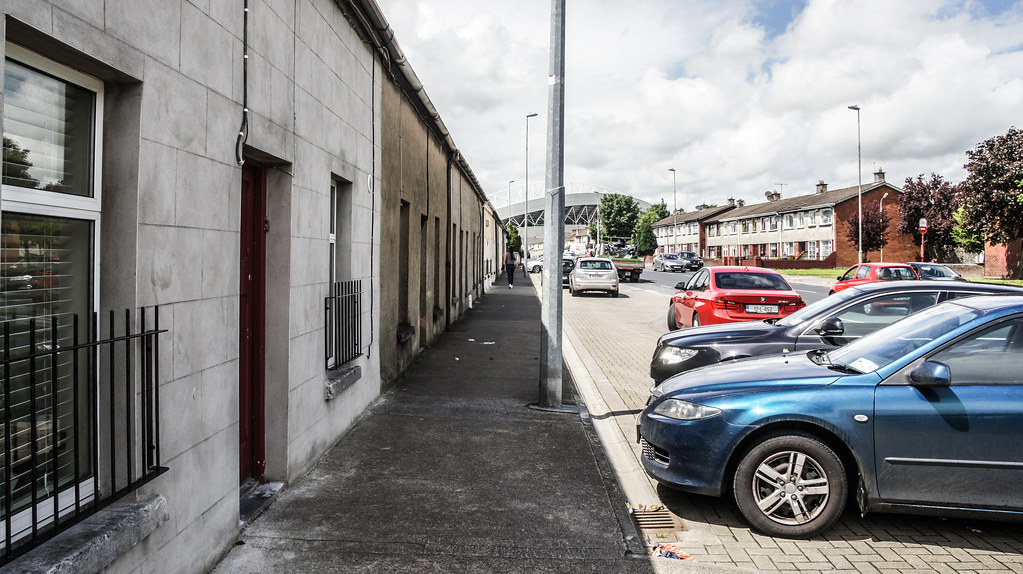 A WALK AROUND THE THOMANDGATE AREA OF LIMERICK CITY IN JUNE