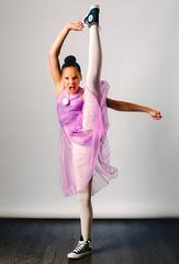 ♫ Dance Apocalyptic ♫ (PhotosbyCDOT) Tags: family portrait ballet canon dance chucktaylor week24 strobist 5diii