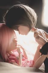 <3 (mymuffin_15) Tags: pink boy love dal william pullip yaoi custom damian gyro steampunk cybrian isul taeyang