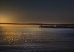Down by the sea (Soloross) Tags: blue light sunset sea sky sun colors beauty canon island star boat words reflex barca tramonto mare song dream wave cielo sole colori luce bellezza onde parole isola canzone