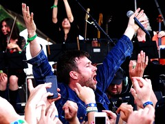 Damon Albarn @ Bonnaroo 2014 (LaurieFan) Tags: music blur festival concert tennessee livemusic festivals bonnaroo damon gorillaz 2014 albarn