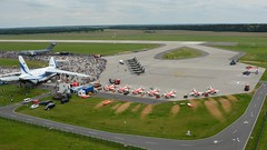 The show from above (jvreymondon) Tags: from above berlin airport fromabove airshow schoenefeld berlinairshow ila2014 ila14