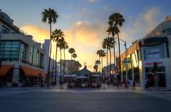 Santa Monica Promenade (TheReilDeal) Tags: california sunset santamonica promenade hdr 3rdstreetpromenade