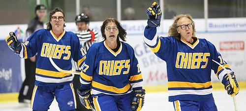 Image result for hanson brothers hockey
