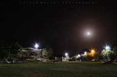 Long Exposure try (Khizar~Malik) Tags: longexposure beauty night farmhouse greenery nightlife summers14