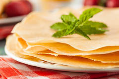 Delicious Homemade French Crepes (brent.hofacker) Tags: food hot cake pancakes breakfast french dessert gold golden healthy european sweet traditional tasty fresh sugar gourmet delicious homemade snack crepe pastry folded pancake thin crepes baked rolled flapjack frenchcrepes