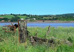 6B13 at Purton. (curly42) Tags: river railway riversevern tug dbs murco purton class60 60020 6b13 purtonshipwrecks