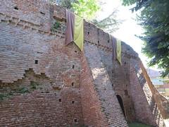 Mura (Matteo Bimonte) Tags: italy italia piemonte mura fortifications cuneo piedmont citywall remparts stadtmauer murailles murallas stadsmuur stadtbefestigung