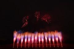 第4回 真駒内花火大会  The 4th Makomanai Fireworks Festival (ELCAN KE-7A) Tags: japan sapporo hokkaido pentax fireworks 北海道 日本 札幌 花火 2014 makomanai ペンタックス 真駒内 丸玉屋 k5ⅱs