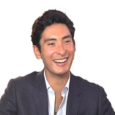 "Alex portrait from Phoenix TV ""A Date with Luyu"" programme 2012"